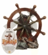 Marina Ornament Ship Wheel Large