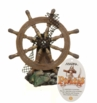 Marina Ornament Ship Wheel Small