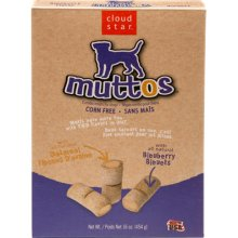 Muttos Treats Oatmeal & Blueberry 16 oz