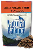 Natural Balance Dry Dog Potato & Fish 15 Lbs Bag