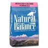 Natural Balance Reduced Calorie Dry Cat Food Formula 15 lb Bag