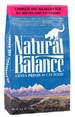 Natural Balance Ultra Premium Dry Cat Food Formula 15 lb Bag