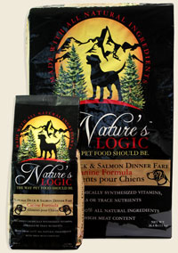 Nature's Logic Duck and Salmon Canine Dry Kibble 4.4 lb