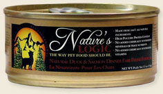 Nature's Logic Duck and Salmon Canned Cat Food 5.5 oz