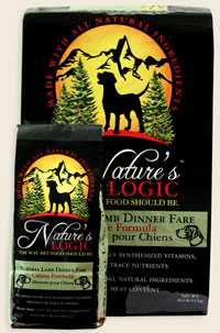 Nature's Logic Lamb Canine Dry Kibble 4.4 lb
