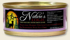 Nature's Logic Rabbit Canned Cat Food  5.5 oz