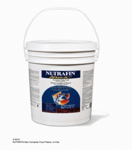 Nutrafin Max Complete Food Flakes, 4.4 lbs., bucket