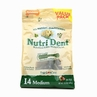 Nutri Dent Brush Bone 14 Pack - Medium