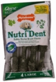 Nutri Dent Brush Bone 4 Pack - Large