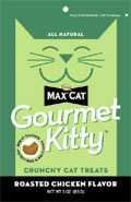 Nutro Max® Cat Gourmet Kitty™ Roasted Chicken Flavor Treats 3 oz.