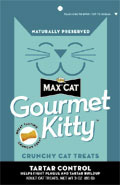Nutro Max® Cat Gourmet Kitty™ Tartar Control Treats 3 oz.