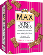 Nutro Max Mini Bones Biscuits 60 oz.
