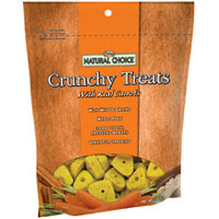 Nutro Natural Choice® Crunchy Treats with Real Carrots 10 oz.