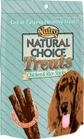 Nutro Natural Choice™ Treats Chicken & Rice Sticks 3 oz