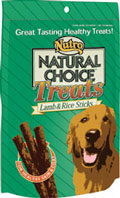 Nutro Natural Choice™ Treats Lamb & Rice Sticks 3 oz