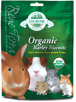 Oxbow Organic Barley Biscuit 2 oz Bag