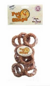 Pet N' Shape Duck N Rice Rings 3 oz