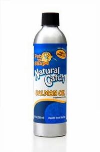 Pet N' Shape Natural Catch Salmon Oil Supplement For Dogs 8 oz