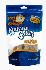 Pet N' Shape Salmon Bites Lg 3 oz