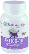 Pet Naturals Antiox 10mg For Cats 60 Caps