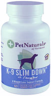 Pet Naturals K-9 Slim Down� For Dogs 60 Tabs