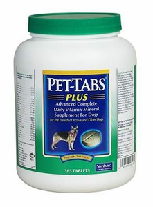 Pet Tabs Plus for Dogs 365 Tablets