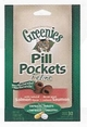 Pill Pockets for Cats Salmon Flavor for Capsules & Tablets 1.6oz Bag