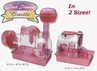 Pink Princess Castles - S.A.M. Down Under Small Animal Homes
