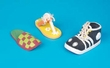 Play-Shoes  Sneaker With Rope Accent - Safety Squeaker