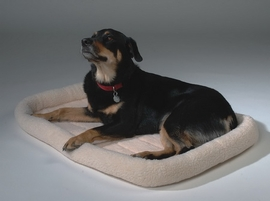 PoochPlus™ Corner Bolster Bed - Hunter Green 45 X 32 Inch