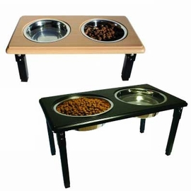 Posture Pro Adjustable Double Diner - Size (3 Quart / Cherry)