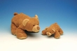 Puppy-Pals Bear Brown Small Plush Toy