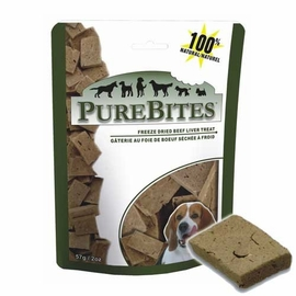 Purebites Freeze Dried Beef Liver Treats 2 oz Bag