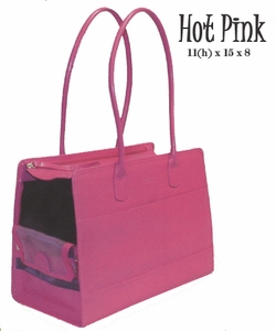 Purse Style Pet Carrier in Pink