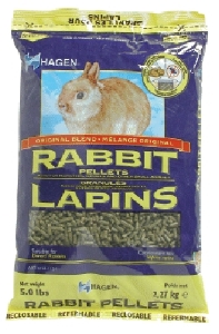 Rabbit Pellets, 2.5 lbs., bag