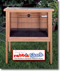 Rabbit Shack - Outdoor Rabbit Cage