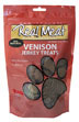 Real Meat Jerky Treats Venison Formula for Dogs 12 oz Bag