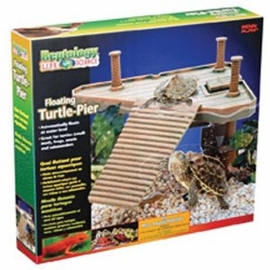 Reptology Turtle Pier Floating Platform w/Ramp