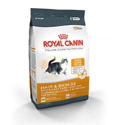 Royal Canin Feline Care Nutrition Hair And Skin 33 Dry Cat Food 15 Lb Bag