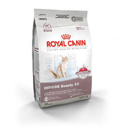 Royal Canin Feline Health Nutrition Indoor Beauty 35 Dry Cat Food 12 oz Bag