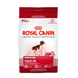 Royal Canin Medium Breed Adult (25) 6 Lb Bag