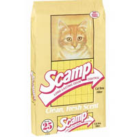 Scamp Non-Clumping Litter 25 Lb Bag