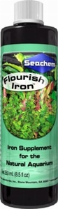 Seachem Flourish Iron Liquid Plant Supplement 8.5 Oz