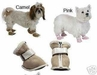 Shearling Dog Boots ON SALE!!