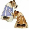 Shearling Dog Coat - Faux Suede Large Size