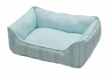 Small Rectangular Reversible Cuddle Bed - Baby Chic Blue, Extra Small