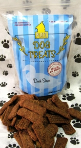 Smart Dog Treats Duck Strips with Organic Brown Rice & Sea Salt 16oz Bag by Plato