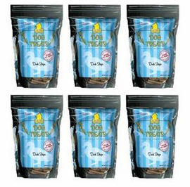 Smart Dog Treats Duck Strips with Organic Brown Rice & Sea Salt by Plato 6x16oz Bags VALUE PACK