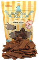 Smart Dog Treats Salmon Strips with Organic Brown Rice & Sea Salt 16oz Bag by Plato
