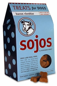 Sojos Dog Biscuits-Bacon Cheddar 10 oz